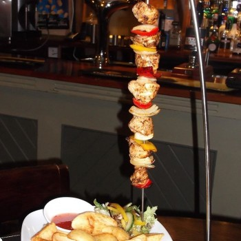 Cajun Chicken Skewer